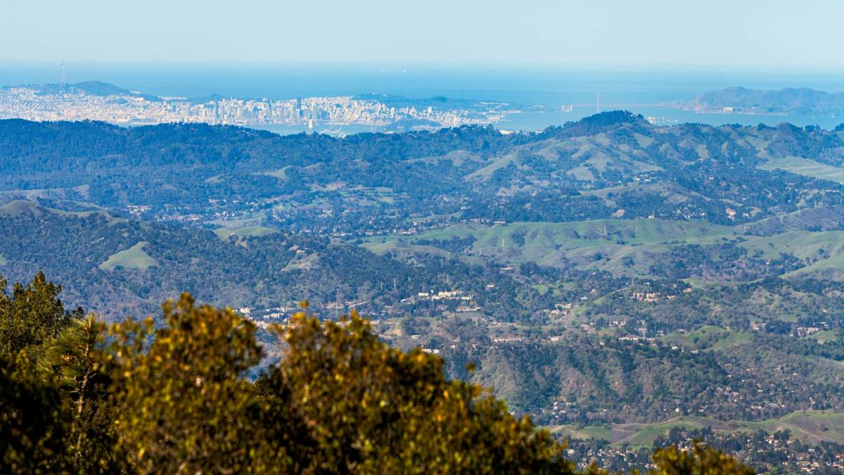 Formed when a mass of underlying rock was forced up through the earth's surface, mount diablo towers 3,849 feet over the san francisco bay. Mount Diablo Visit Concord