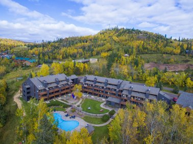 Caribou Highlands Lodge Aerial View