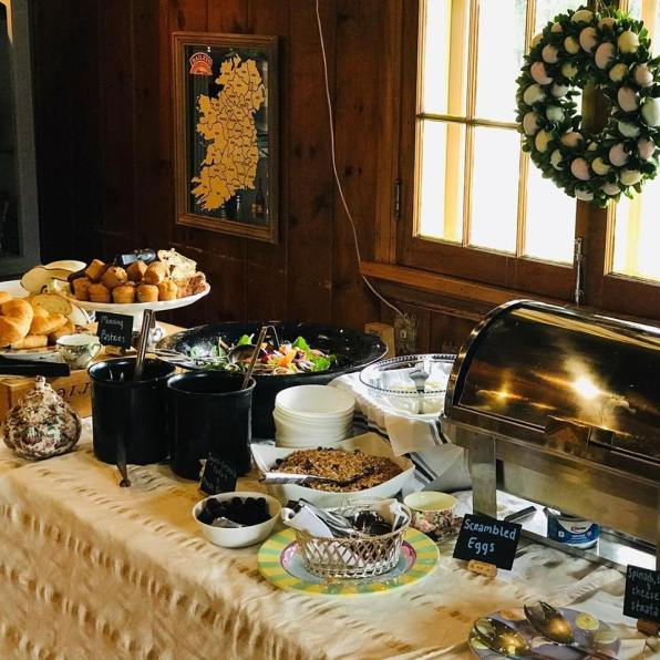 Cascade Lodge Restaurant Easter buffet