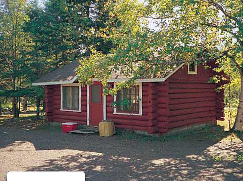 Lamb's Resort & Campground Red Cabin