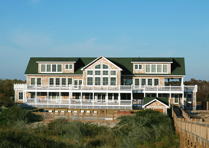 The Three Authors Oceanfront Homes