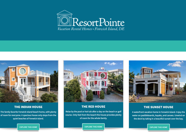 Resort Pointe Vacation Home Rentals Visit Delaware Beaches Rehoboth Bethany Fenwick