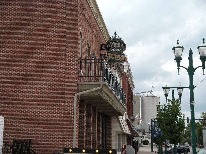 The Huber Opera House and Civic Center
