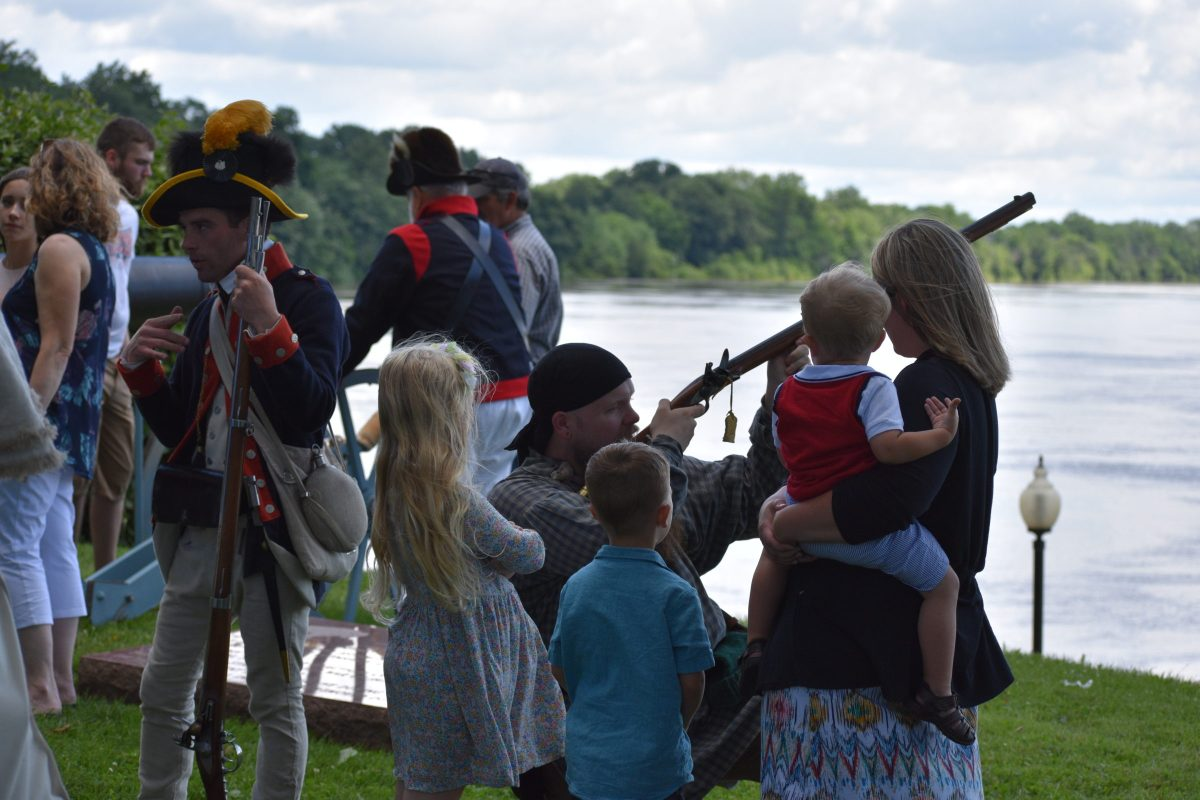 Historic Reenactment at the Fort Grounds