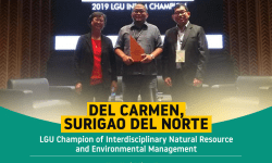 Lgu Del Carmen Champion Of Interdisciplinary Natural Resource And Environmental Management