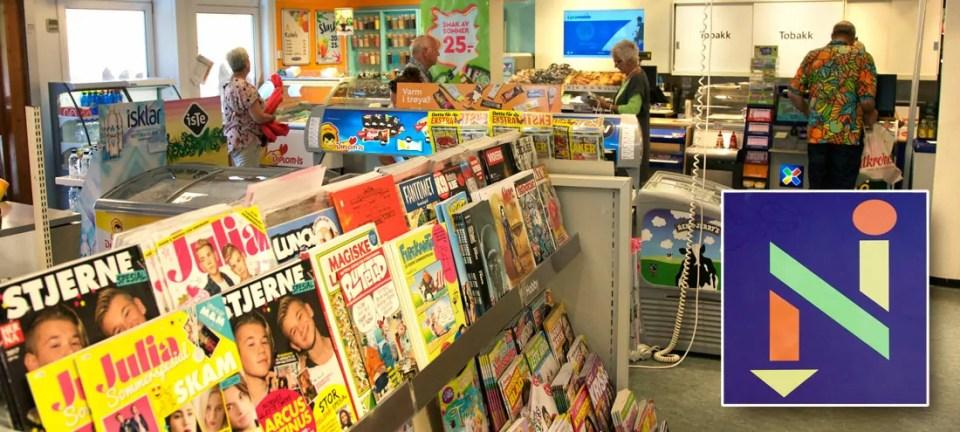 En Narvesen-kiosk finnes i alle byer, så også i Drøbak.