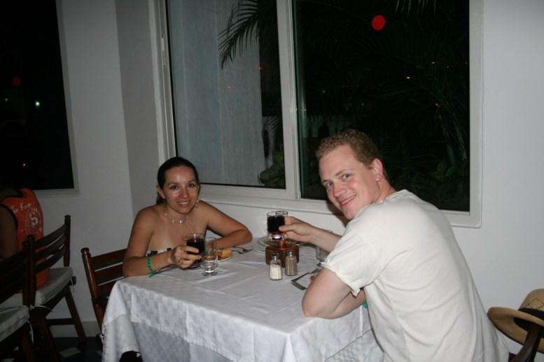 Having a great time, cheers! Cartagena, Colombia © Carmen Cristina Carpio Tobar