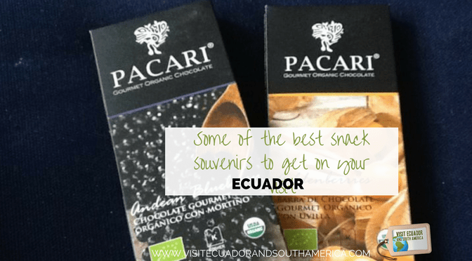 Some of the best snack souvenirs to get on your visit to Ecuador