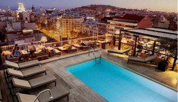 les plus beaux htels avec piscine - Hotel Centre Barcelone Avec Piscine