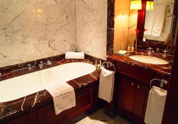 Salle de bain du grand hotel