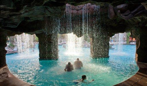 Les plus belles piscines dhtels  Las Vegas