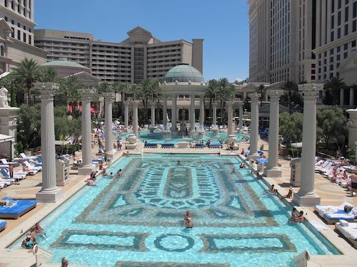 Quelles sont les plus belles piscines dhtel  Las Vegas
