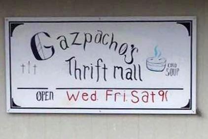 Gazpacho's Thrift Store