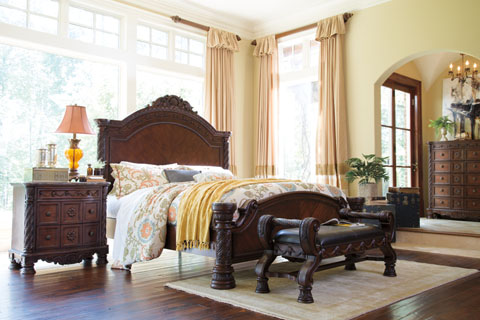 Millennium By Ashley Furniture North Shore Bedroom Group