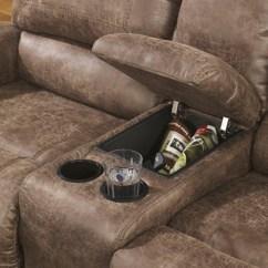 Nailhead Trim Sofa Ashley Knoll Sling Furniture Oberson 7410088/94 Reclining ...