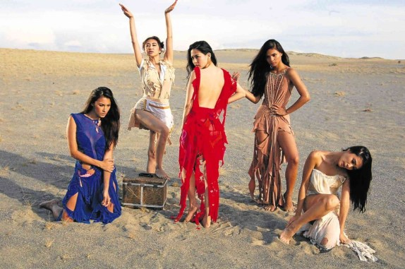 The Stars of Temptation Island in Paoay Sand Dunes