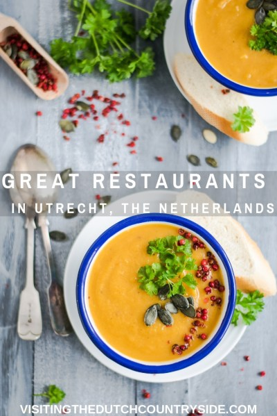 Are you looking for the best restaurants in Utrecht, The Netherlands? Here you will find the greatest restaurants of Utrecht where you can find good food, for dinner, lunch, breakfast and brunch. When you travel to Utrecht, The Netherlands, you have to eat at these restaurants.