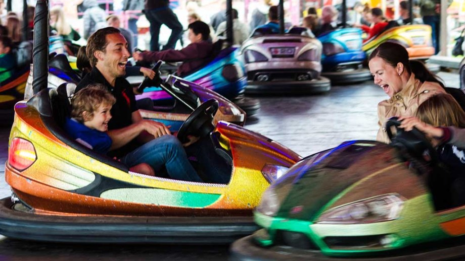 Fun fairs and bumper cars in The Netherlands