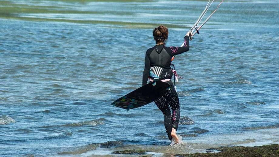 Kitesurfing in the netherlands