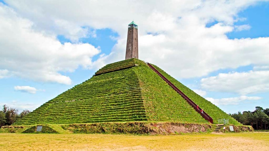 Pyramid from Austerlitz built in 1804 in the Netherlands. Things to do veluwe national park and near Amersfoort