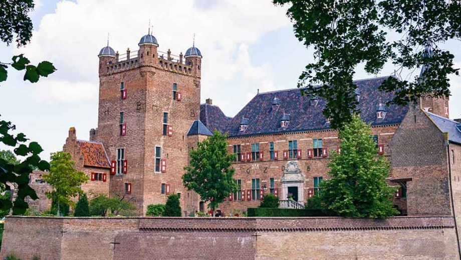 The castle Huis Bergh in the most beautiful village or small Dutch town of s-Heerenberg in Gelderland, The Netherlands