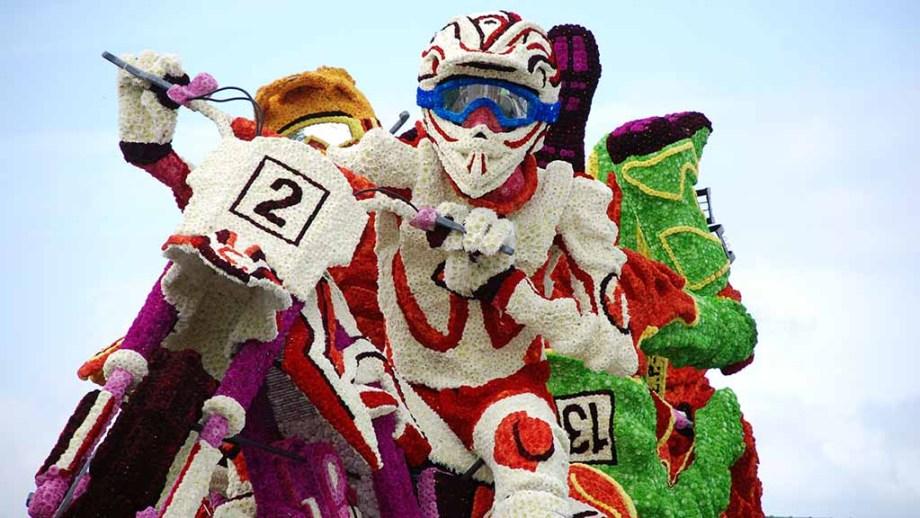 The flower parade of Zundert, The Netherlands