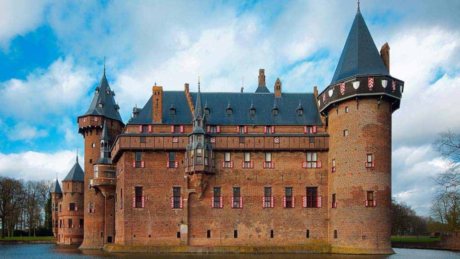 The most famous castle De Haar in the province of Utrecht, The Netherlands