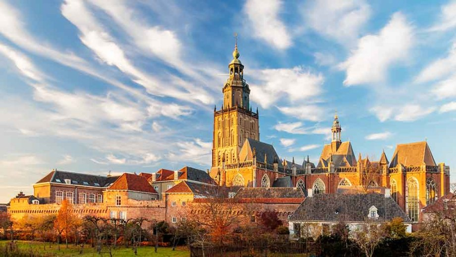Zutphen, Gelderland, The Netherlands: Hanseatic walled city