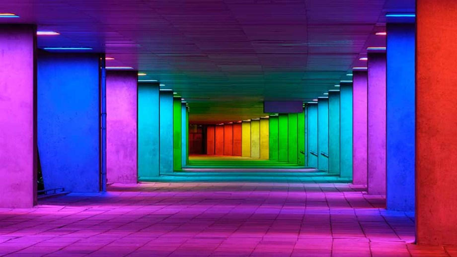 Gallery tunnel in Rotterdam, The Netherlands: Best street art locations