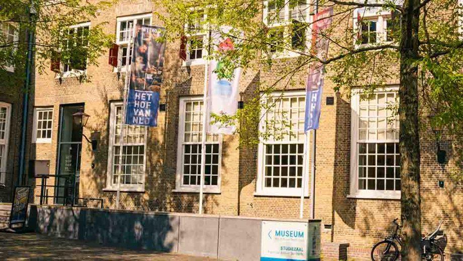 Het Hof van Nederland museum in an old abbey complex in the town of Dordrecht, Zuid- Holland, The Netherlands