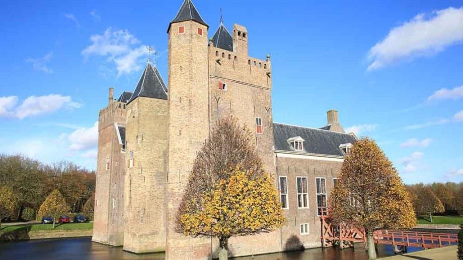 Castle Heemsker or Assumburg in the Dutch province of Noord- Holland, The Netherlands