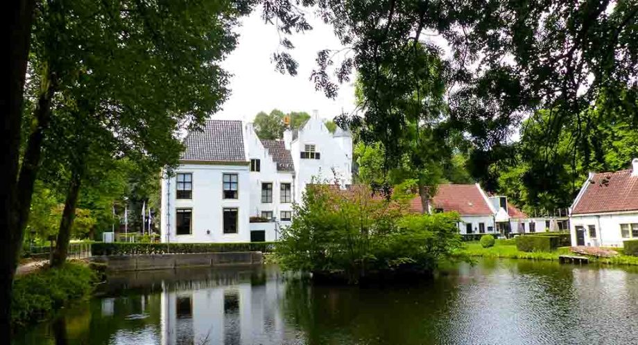 Castle van Rhoon in the province of Zuid- Holland, The Netherlands; A castle hotel near Rotterdam and The Hague