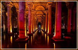 Basilica Cistern Restored 542 A.D. water works
