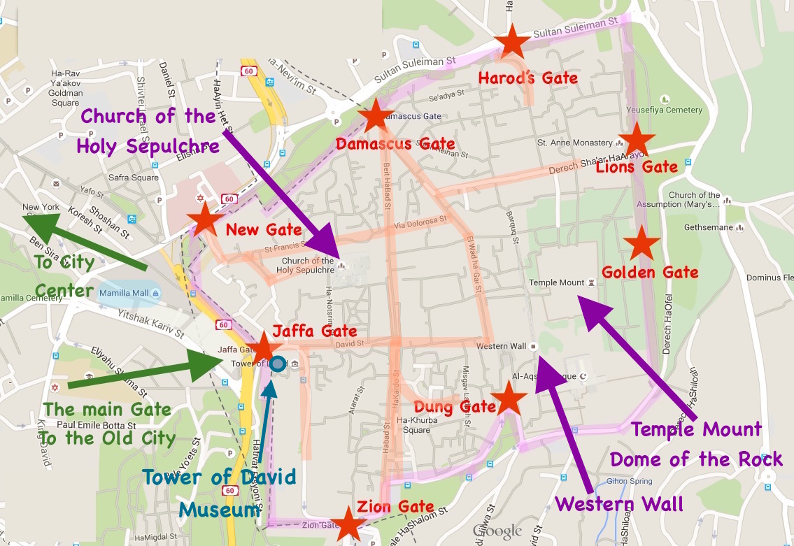 new jerusalem diagram 96 integra alarm wiring what to visit in the old city of top