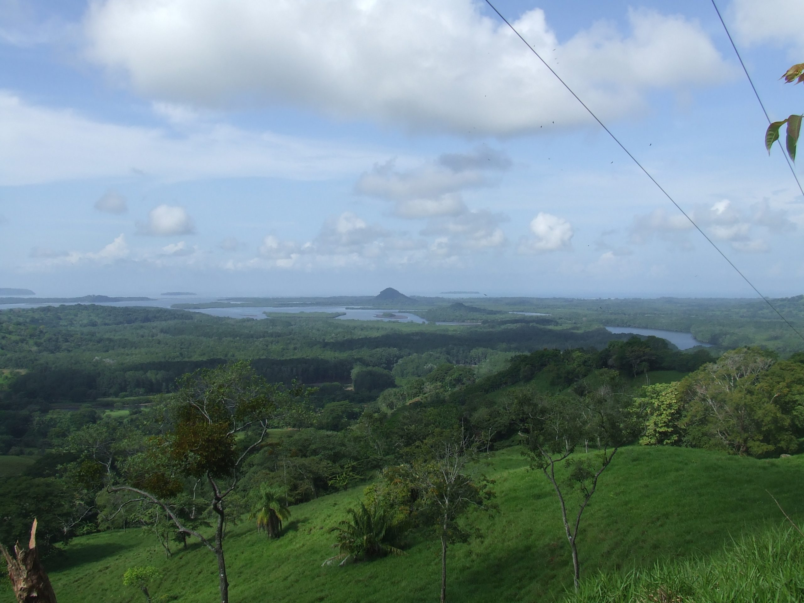 Panoramic view from Nancito, Chiriquí
