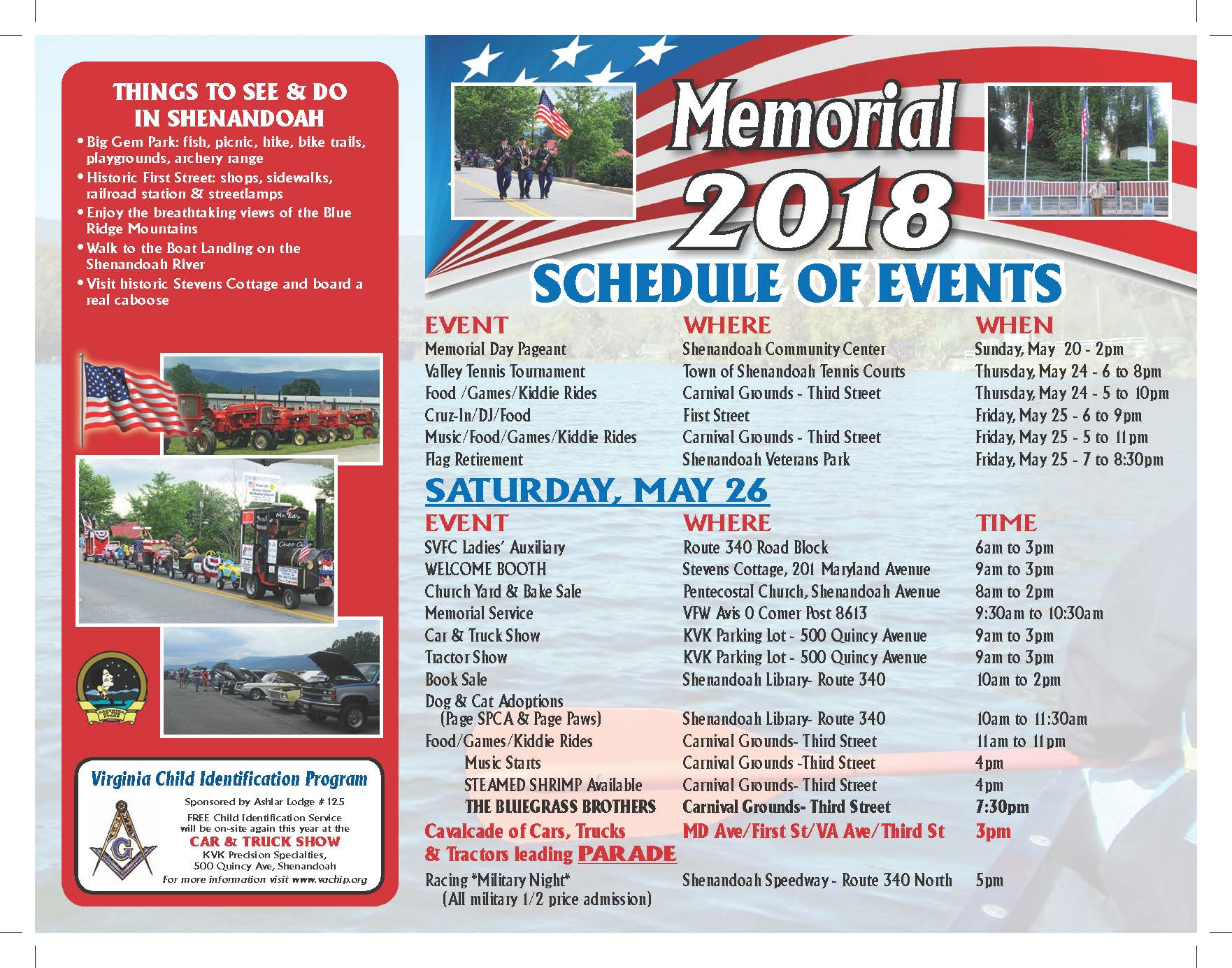 21st Annual Memorial Festival And Parade