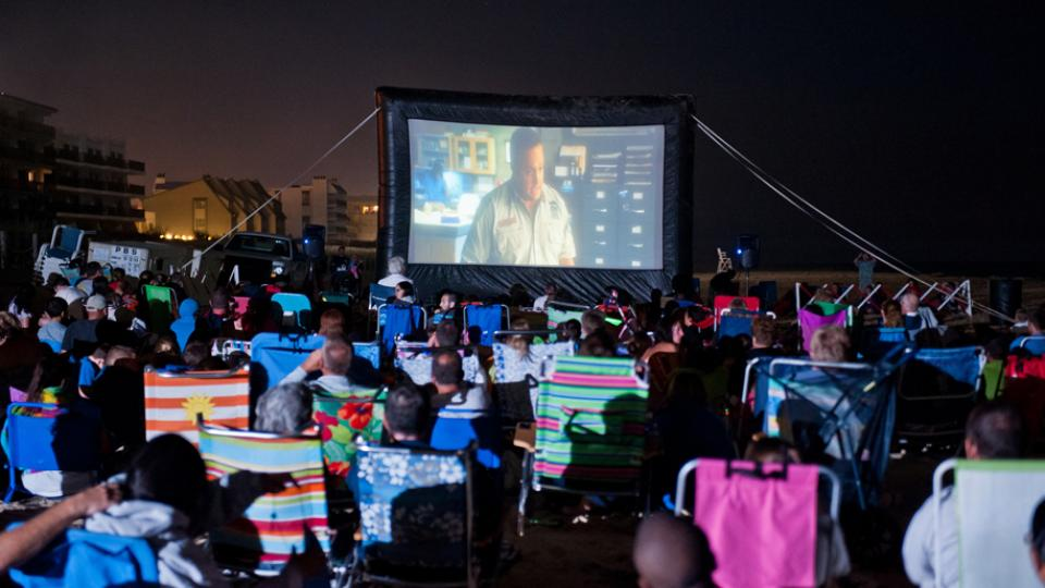 Outdoor Movies  A Summertime Tradition in Maryland