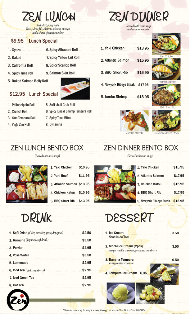 Take Out Sushi Restaurants