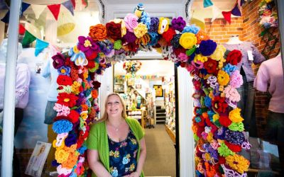 Crafty Stitches Wins 'Best Dressed Business' Competition in Northwich
