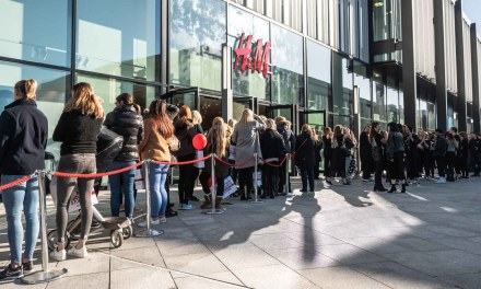 H&M's grand opening at Barons Quay