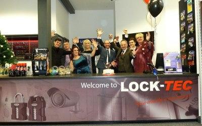Lock-tec celebrate 25 years in business