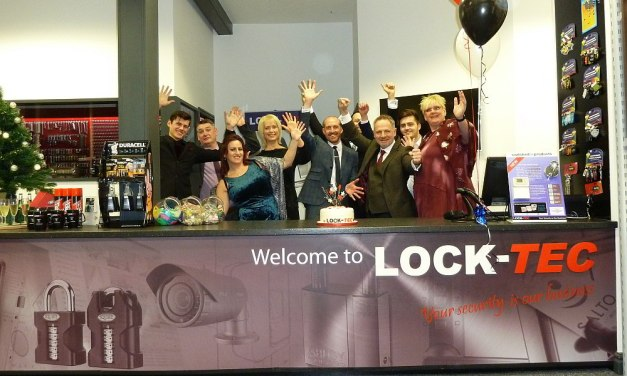 Lock-tec celebrate 25 years in business