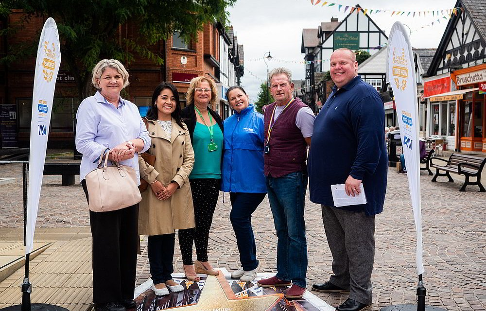 Great British High Street Awards judges visit Northwich