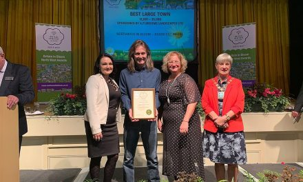 Northwich blooms once again at awards ceremony