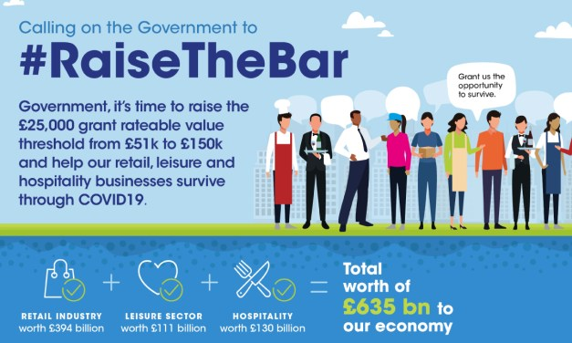 Northwich BID supporting 'Raise The Bar' campaign