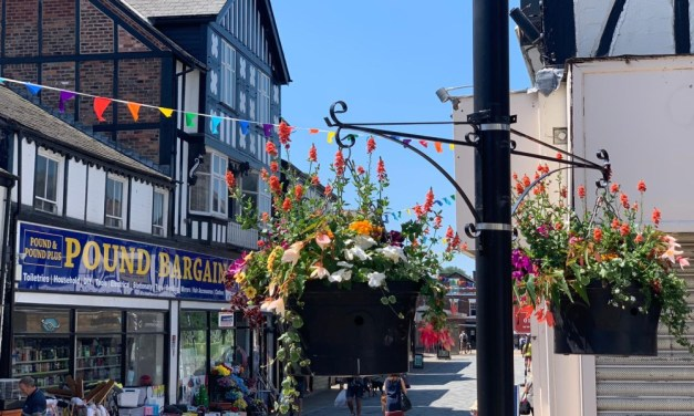 Partnership working brings extra colour to Northwich