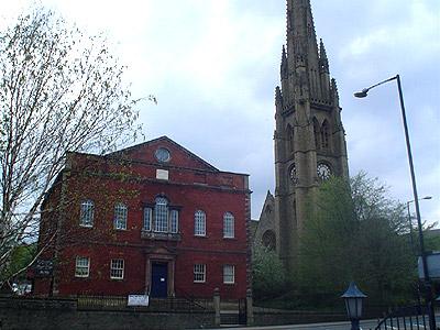 Square Chapel, Halifax, Yorkshire, Ian Nairn