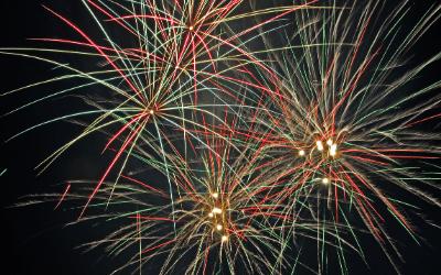 Oswestry Fireworks
