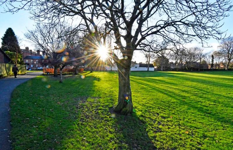 Cae Glas Park Oswestry North Shropshire