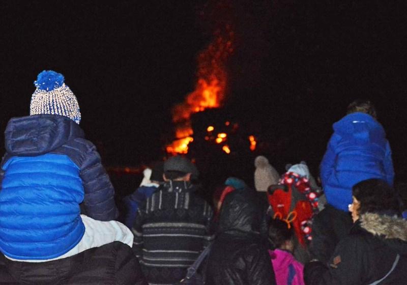Oswestry Bonfire Night